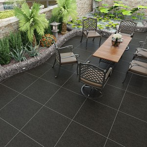 Non – Slip Outdoor Ceramic Tile Rustic Granite Design Tile