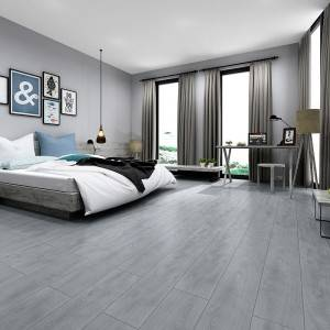 Home Wood Effect Floor Tiles  Ceramic Tile High Temperature Resistance 20x120CM