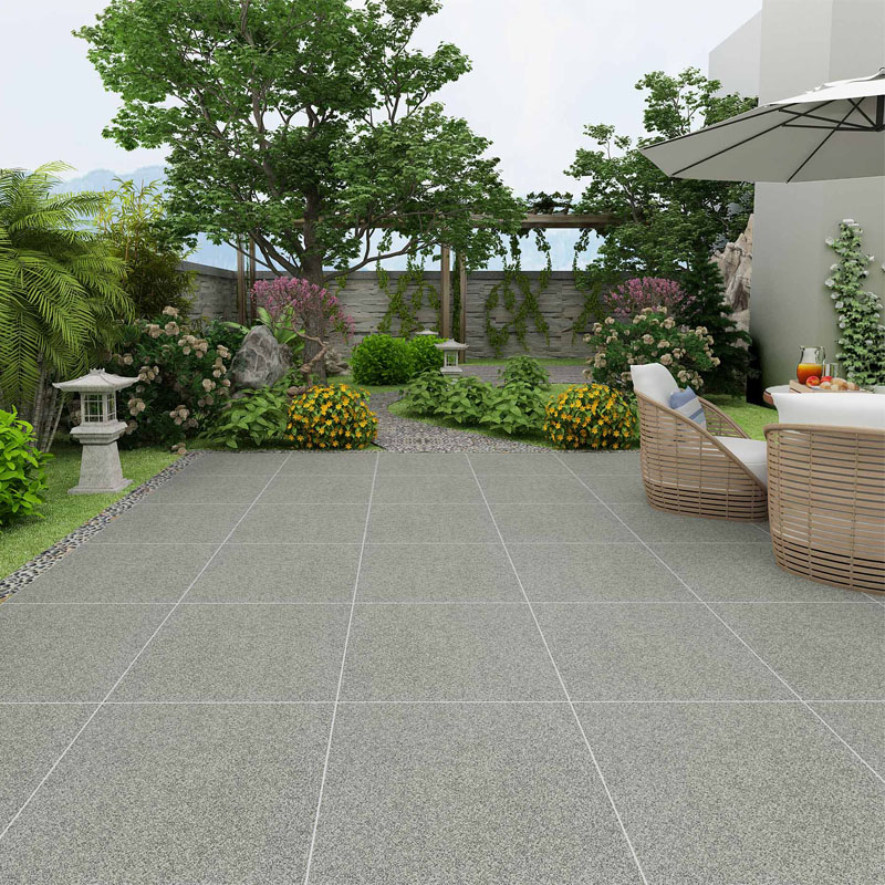 Super Thick Ceramic FLOOR Tiles 600x600mm Rustic Anti – Dust TISI CO FTA Featured Image