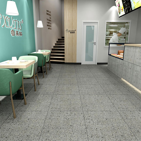 Pepper tiles on Matt Surface of Glazed Ceramic Tile use in Flooring 600x600mm Featured Image