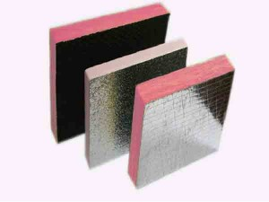 fireproof soundproof thermal insulation glass wool with aluminum foil
