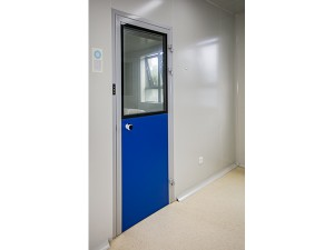 clean melamine resin panel door for medical industrial pharmaceutical rooms