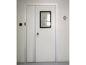 customized alu aluminum frame glass sliding security single double clean door