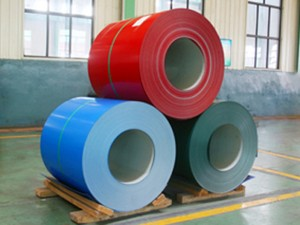 color coated GI GL PPGI PPGI prepainted galvanized steel coil for roofing sheet