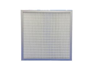 partiton pleat high efficiency capacity HEPA filter for electronics clean room pharmaceutical theatre