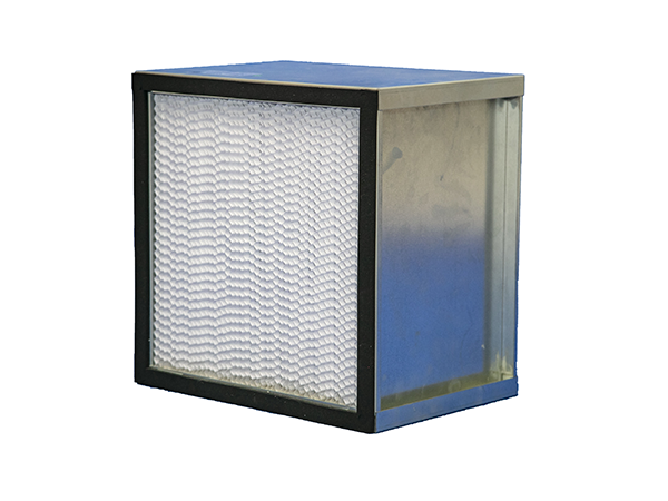 partiton pleat high efficiency capacity HEPA filter for electronics clean room pharmaceutical theatre Featured Image