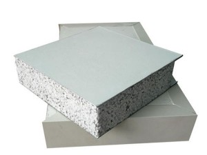 fireproof silicon rock sandwich panel for wall roof clean room