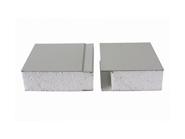 75mm 50mm fireproof lightweight insulated EPS cement sandwich wall panel for prefabricated house factory warehouse Featured Image