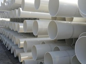 water drainage plastic PVC-U flared straight pipe
