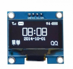 1.3 inch display IIC I2C interface White color OLED with board at competed price