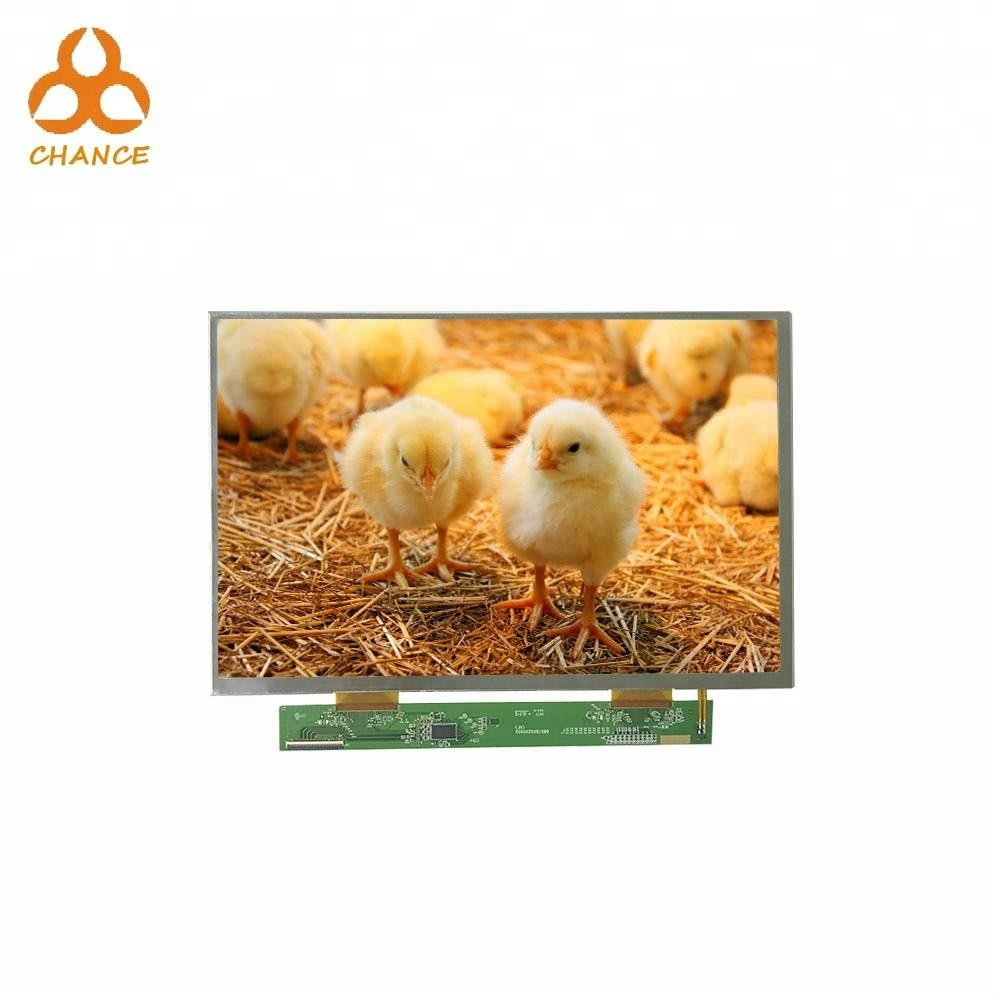 Original 10.1 inch module 1280 *3(RGB)* 800 MIPI LVDS interface mini flexible transparent video tft lcd screen panel