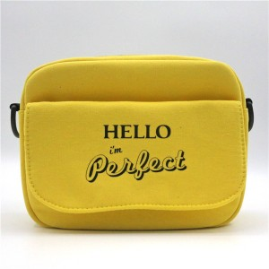 Cotton Bag for cosmetics shopping functional