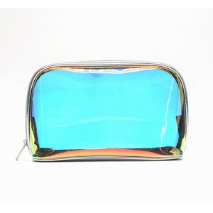 TPU Cosmetic Bags Eco-friendly Degradable Iridescent