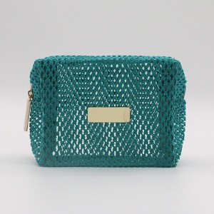 Eco-friendly mesh pvc cosmetic bags