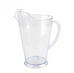 Charmlite BPA free Hot sale OEM Service Clear Beer Plastic water Jug -64oz Pitcher Pot