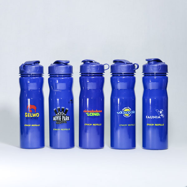 Charmlite Factory Direct Customized Logo 650ml Water Bottle with Lanyard for Promotion Featured Image