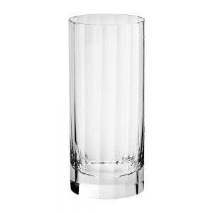Fluted Highball Glass Plastic Unbreakable Crystal High End Quality PC Highball Glasses