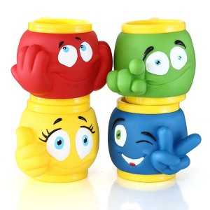 Charmlite 3D Cartoon Animal Cups with Handle, Cute Ice Cream Mug Food Grade