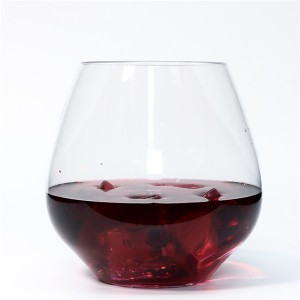 Manufacturer of Biodegradable Takeaway Cups - Charmlite Shatterproof Wine Glass Unbreakable Whiskey Cocktail Glass Plastic Wine Cup – 18 oz – Charmlite