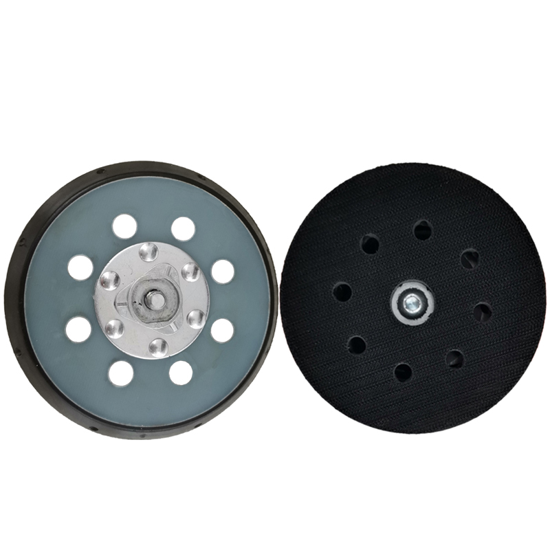 5 inch 125mm 8-Hole Hook and Loop Plastic Foam Sander Backing Plate CHE-DP15B
