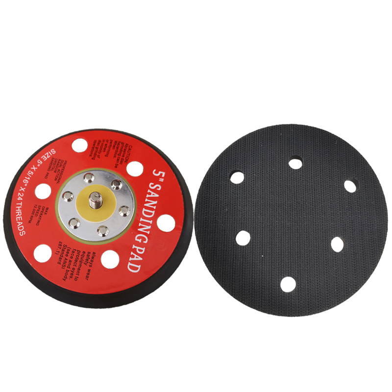 5 inch Sanding Pads 6-Holes Sanding Backing Plate CHE-DP08A