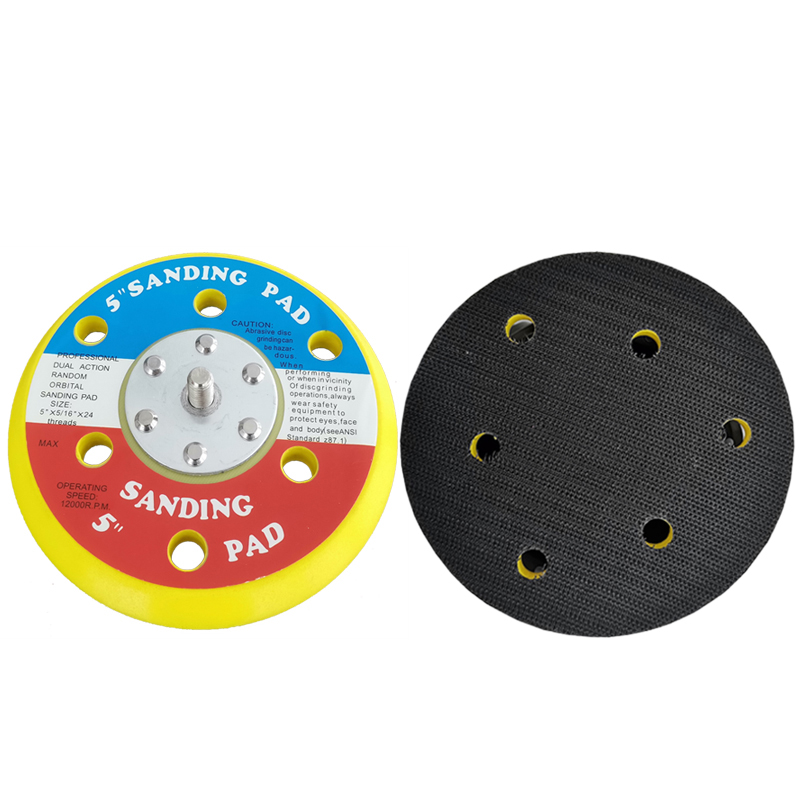 5in Backing Pads Sanding Plate for Dual Action Polisher CHE-DP08
