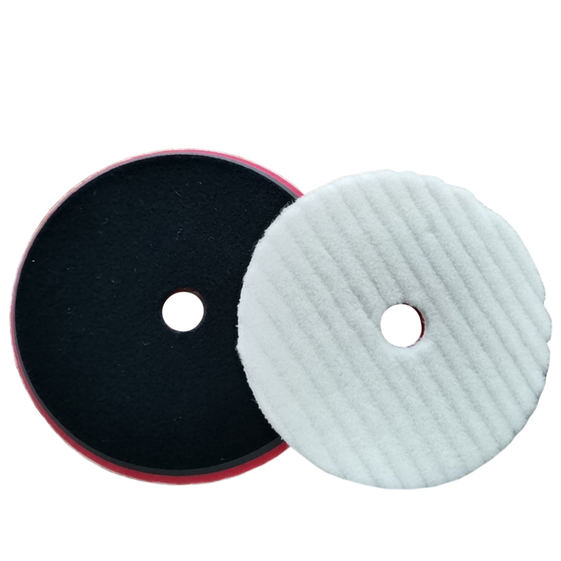 5inch and 6inch Knitted Wool Pad with Foam Cushion for DA Polishers CHE-WP628