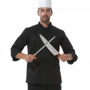 Double Breasted Chef Uniform With Removable Plastic Low-Dome Stud Buttons Cooking Uniform For Hotel And Restaurant  CU101C0100A