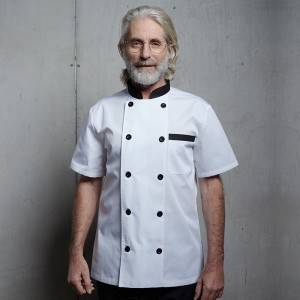 Classic Double Breasted Short Sleeve Chef Coat And Chef Uniform For Restaurant And Hotel CU104D0201E1