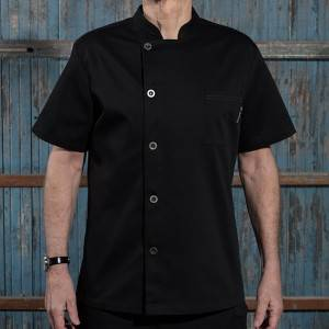 Classic Single Breasted Short Sleeve Chef Jacket For Hotel And Restaurant U106D0100A