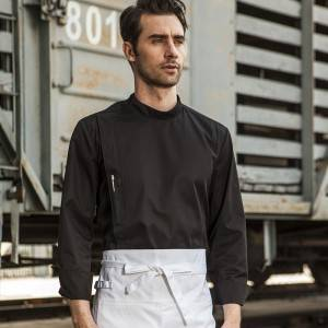Classic Single Breasted Long Sleeve Chef Jacket For Hotel And Restaurant CU109C0100C