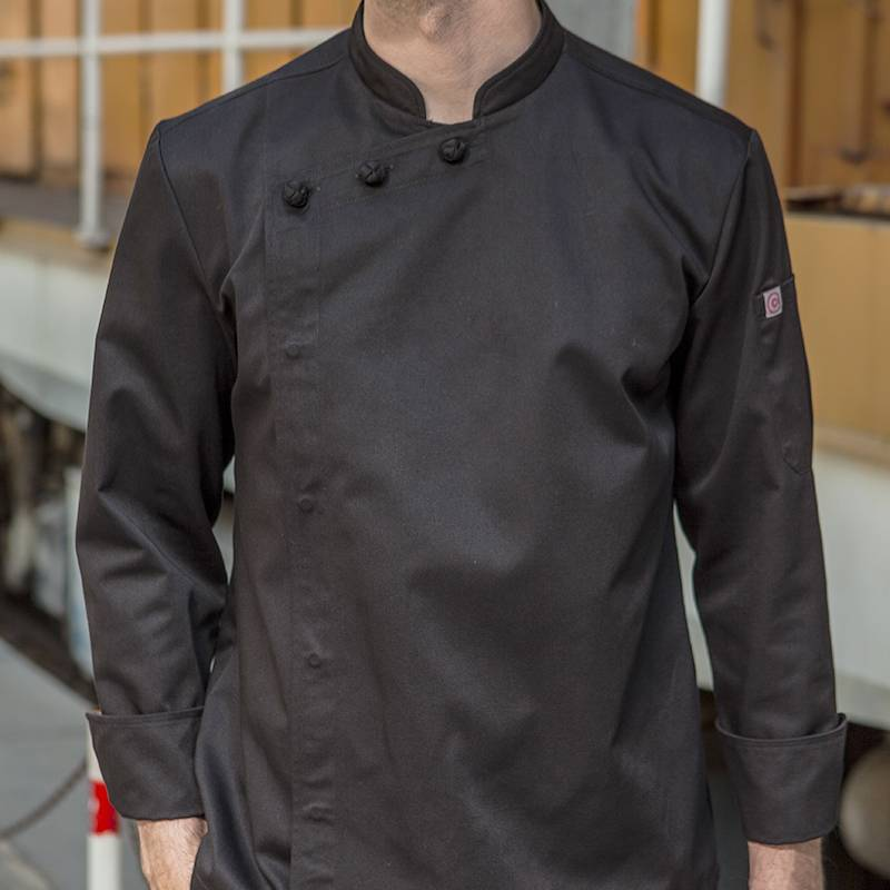 Hidden Placket Long Sleeve Classic Design Chef Jacket And Chef Uniform For Hotel And Restaurant CU1107C0100A Featured Image