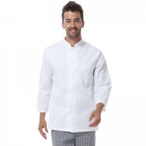 Classic Single Breasted Long Sleeve Chef Jacket For Hotel And Restaurant M128C0200A
