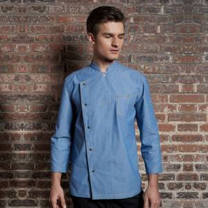Adjustable Sleeve Fashion Design Chef Jacket For Hotel And Restaurant CU147T115000T-2