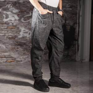 Unisex poly cotton chef pants for kitchen work CU209C131000H