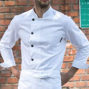 Classic Single Breasted Long Sleeve Chef Jacket For Hotel And Restaurant U106C0100A