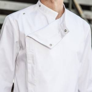 Classic Single Breasted Long Sleeve Chef Jacket For Hotel And Restaurant CU109C0200C
