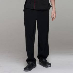 Unisex constructed poly chef pants for kitchen work U202C0100J