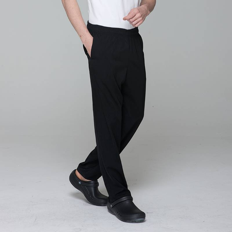 Unisex constructed poly chef pants for kitchen work U202C0100K Featured Image