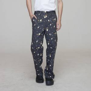 Unisex COTTON chef pants for kitchen work U205C9700Q