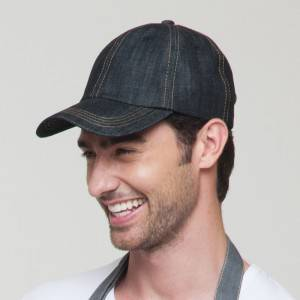Restaurant Waiter Chef Denim Baseball Cap U401S3900T
