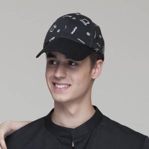 Restaurant Waiter Chef Cotton Baseball Cap U401S9901Q