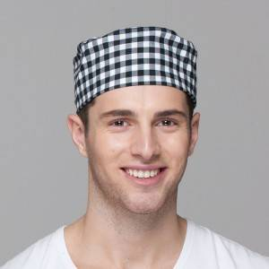 Unisex Flat Top Japanese Style Chef Hat U405S8300H