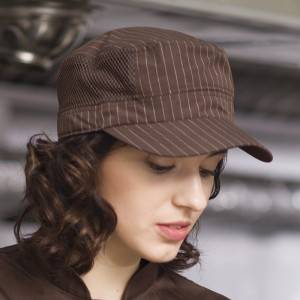 Restaurant Waiter Chef Poly Cotton Baseball Cap U411S5600H