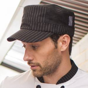 Restaurant Waiter Chef Poly Cotton Baseball Cap U411S8100H