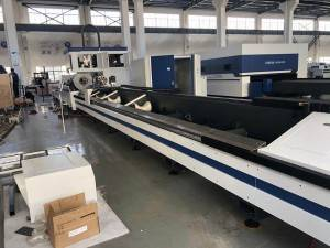 Big pipe laser cutting machine