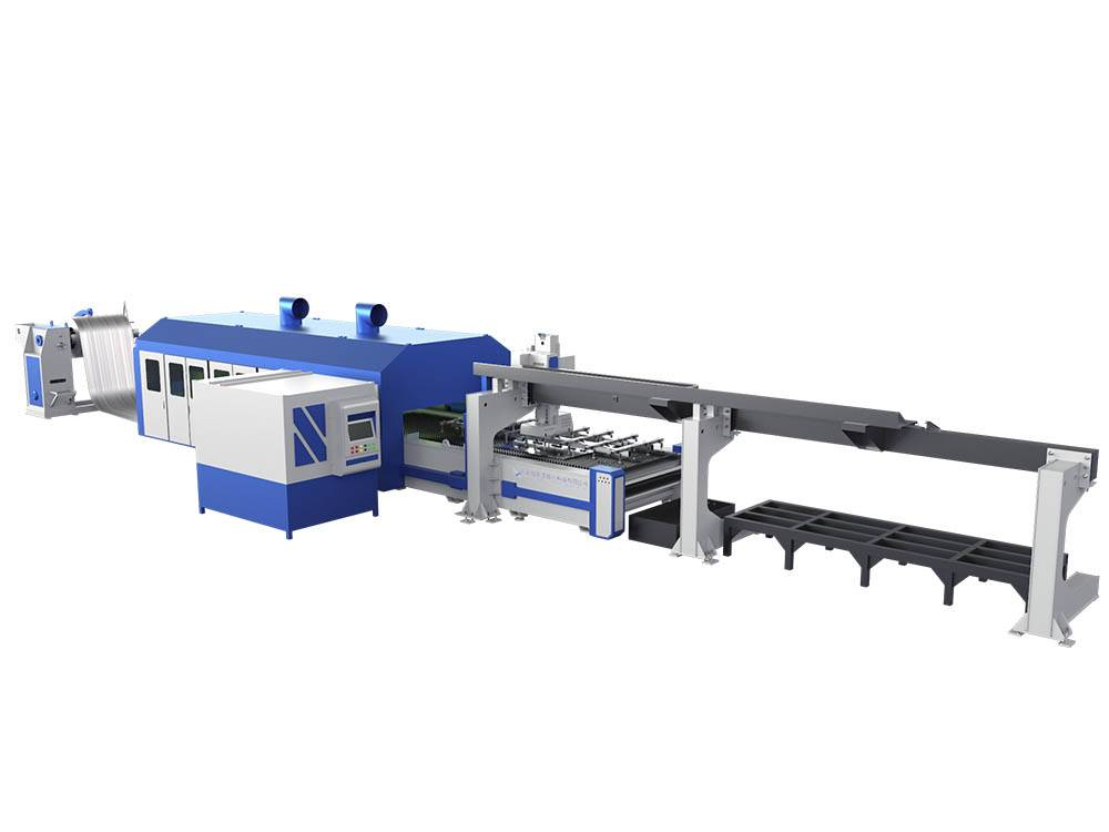 Coil material Laser Cutting Machine Featured Image