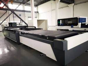 Fiebr laser cutting machine without cover