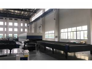 High power Metal laser cutting machine