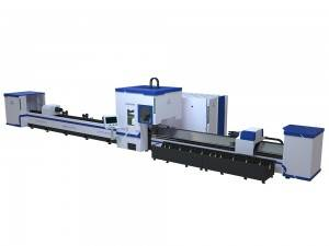 Pipe Laser Cutting Machine With Automatic Loading And Unloading